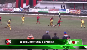 Dorinel Munteanu e optimist