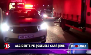 Accidente pe șoselele cărășene