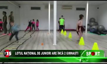 Lotul Național de Juniori are încă doi gimnaști