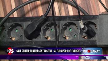Call center pentru contractele cu furnizorii de energie