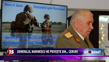 Generalul Marinescu ne privește din…    ceruri!