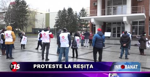 Proteste la Reșița