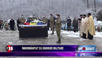 Înmormântat cu onoruri militare