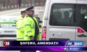 Șoferii, amendați!