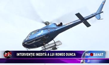 Intervenție inedită a lui Romeo Dunca