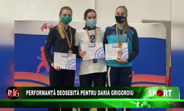 Performanță deosebită pentru Daria Grigoroiu