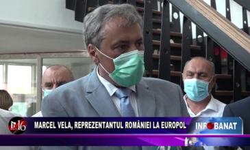 Marcel Vela, reprezentantul României la Europol