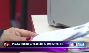 Plata online a taxelor și impozitelor