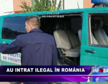 Au intrat ilegal în România