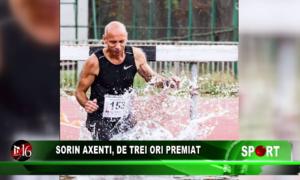 Sorin Axenti, de trei ori premiat