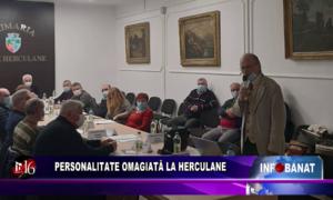 Personalitate omagiată la Herculane