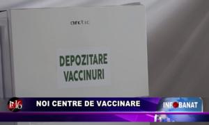 Noi centre de vaccinare