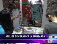 Atelier de ceramică la Mansarda