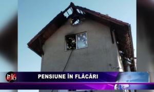 Pensiune în flăcări