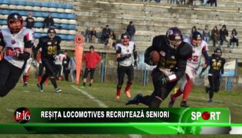 Reșița Locomotives recrutează seniori