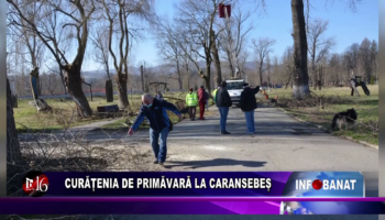 Curățenia de primăvară la Caransebeș