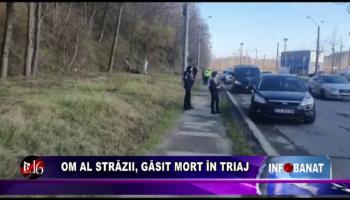 Om al străzii, găsit mort în Triaj