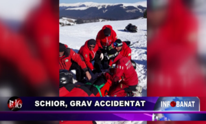 Schior, grav accidentat