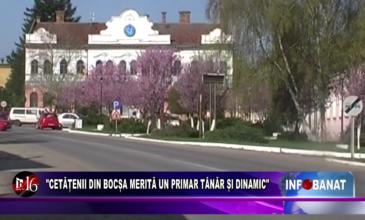 """""""Cetățenii din Bocșa merită un primar tânăr și dinamic"""""""