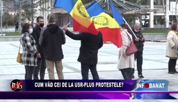 Cum văd cei de la USR PLUS protestele?