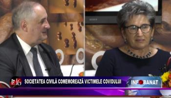 Societatea civilă comemorează victimele covidului