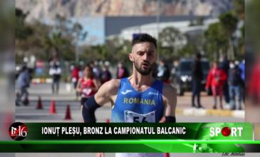 Ionuț Pleșu, bronz la Campionatul Balcanic