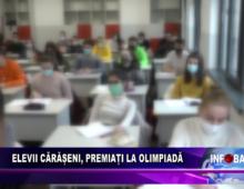 Elevii cărășeni, premiați la Olimpiadă