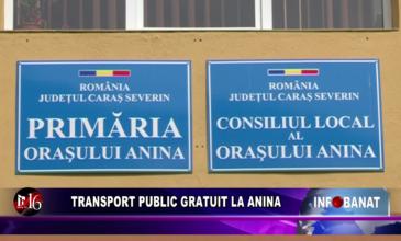 Transport public gratuit la Anina