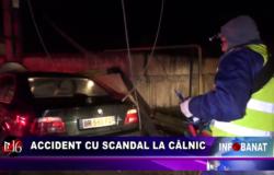 Accident cu scandal la Câlnic