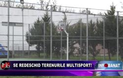 Se redeschid terenurile multisport!