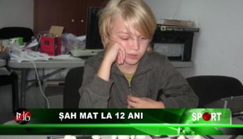 Șah mat la 12 ani