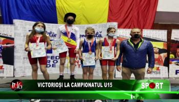 Victorioși la Campionatul U15