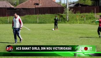 ACS Banat Girls, din nou victorioasă!