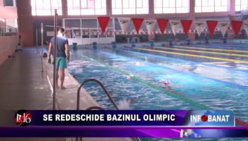 Se redeschide Bazinul Olimpic