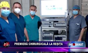 Premieră chirurgicală la Reșița