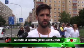Calificare la Olimpiadă și un record național