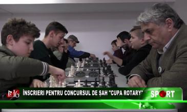 Înscrieri pentru concursul de șah Cupa Rotary