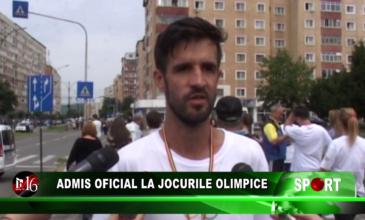 Admis oficial la Jocurile Olimpice