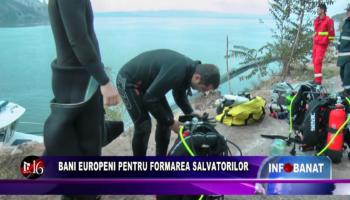 Bani europeni pentru formarea salvatorilor