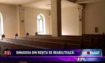 Sinagoga din Reșița se reabilitează!