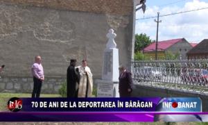 70 de ani de la deportare în Bărăgan
