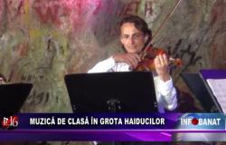 Muzică de clasă în Grota Haiducilor