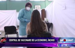 Centrul de vaccinare de la Economic, închis!