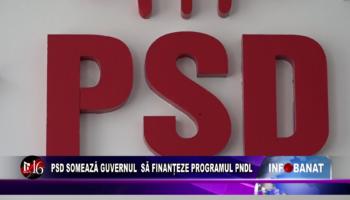 PSD somează Guvernul să finanțeze programul PNDL
