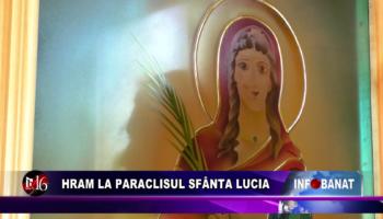 Hram la Paraclisul Sfânta Lucia