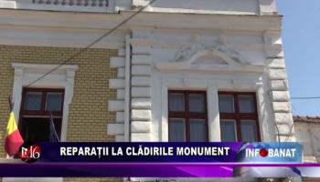 Reparații la clădirile monument