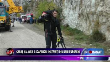 Caraș va avea 4 scafandri instruiți din bani europeni