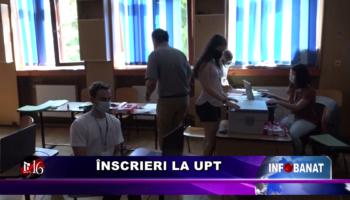 Înscrieri la UPT
