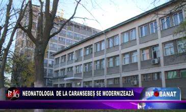 Neonatologia de la Caransebeș se modernizează