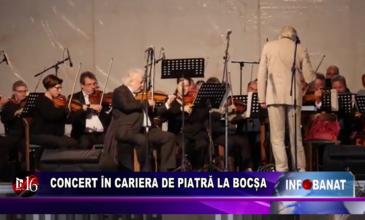Concert în cariera de piatră la Bocșa